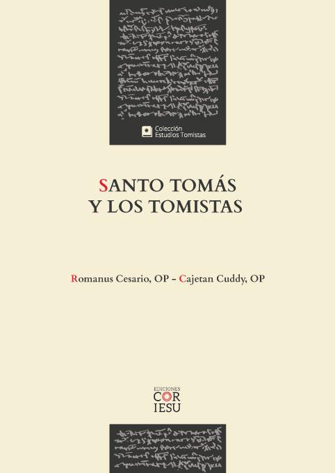 Santo Tomás y los tomistas